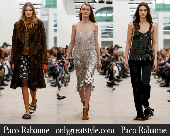 New Arrivals Paco Rabanne Fall Winter 2018 2019 Women's