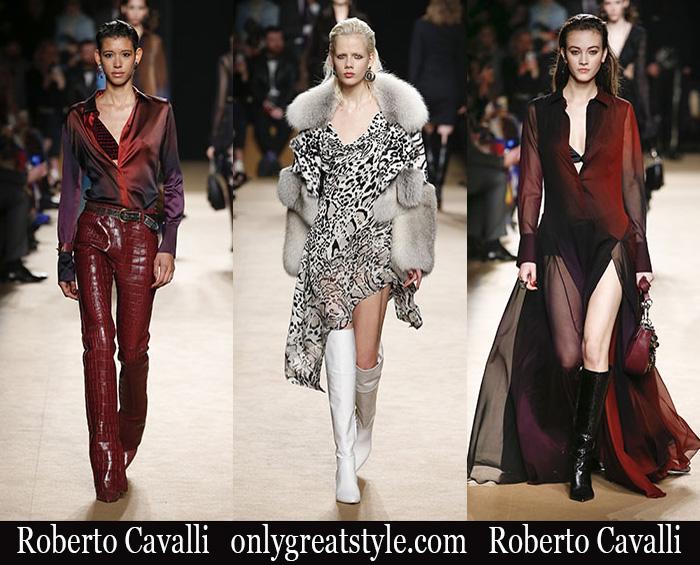 75d83b228c692 New arrivals Roberto Cavalli fashion 2018 2019 women s fall winter
