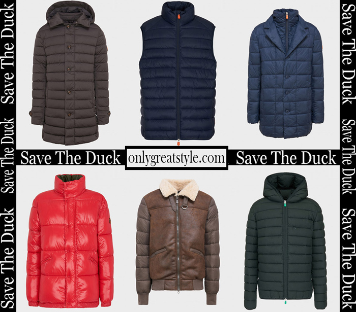 New Arrivals Save The Duck Fall Winter 2018 2019 Men's