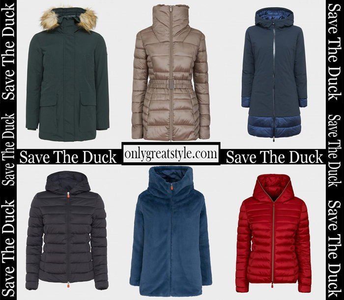 New Arrivals Save The Duck Fall Winter 2018 2019 Women's