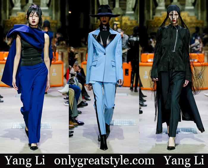 New Arrivals Yang Li Fall Winter 2018 2019 Women's