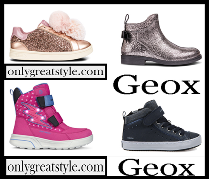 Shoes Geox Fall Winter 2018 2019 Girl