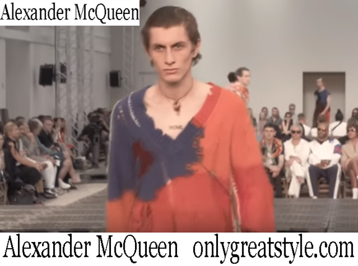 New Arrivals Alexander McQueen Spring Summer 2019 Men's