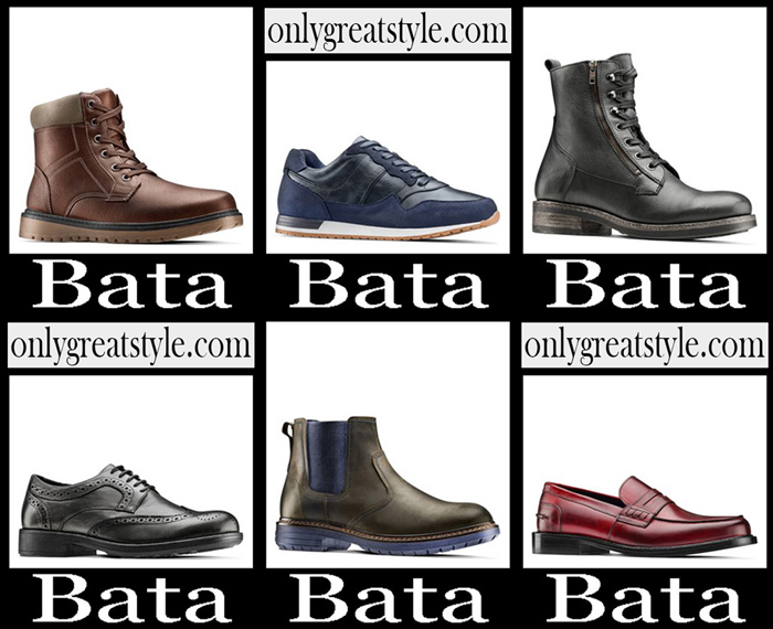New Arrivals Bata Fall Winter 2018 2019 Men's