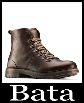 New Arrivals Bata Shoes 2018 2019 Men's Fall Winter 16