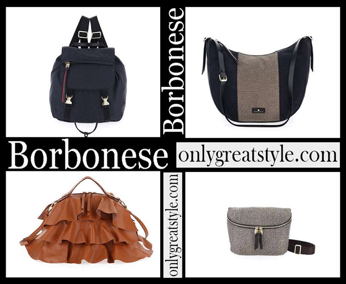 New Arrivals Borbonese Fall Winter 2018 2019 Women's