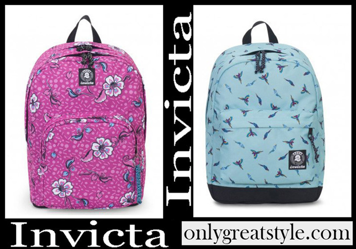 New Arrivals Invicta 2018 2019 Backpacks Girls