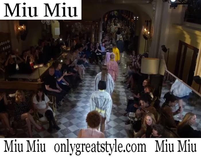 New Arrivals Miu Miu Spring Summer 2019 Women's