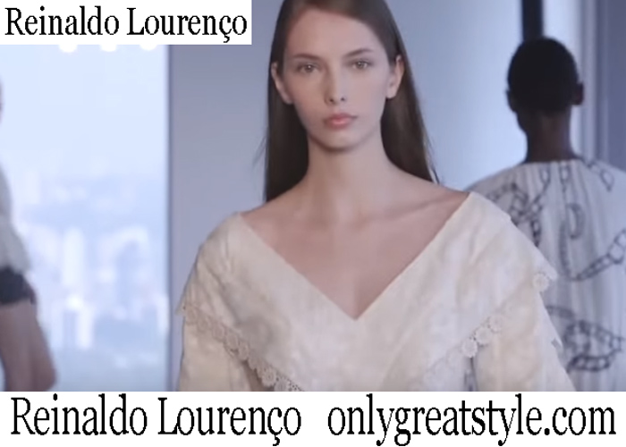 New Arrivals Reinaldo Lourenco Spring Summer 2019