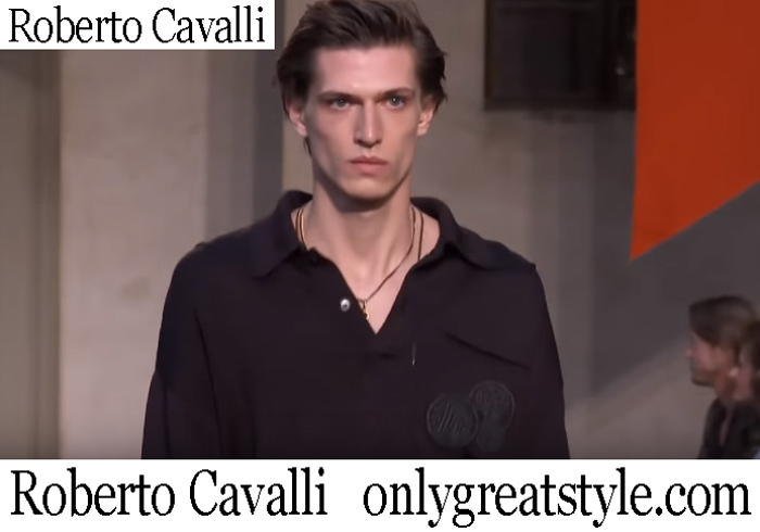 New Arrivals Roberto Cavalli Spring Summer 2019 Men's