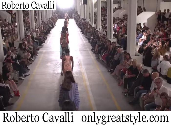 New Arrivals Roberto Cavalli Spring Summer 2019