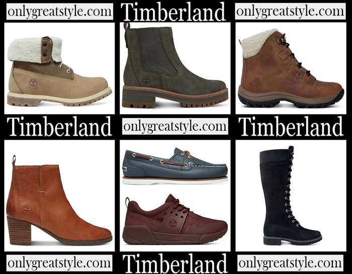 New Arrivals Timberland Fall Winter 2018 2019 Women's