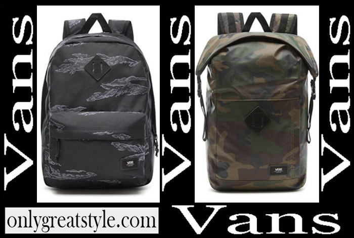 New Arrivals Vans 2018 2019 Backpacks Boys