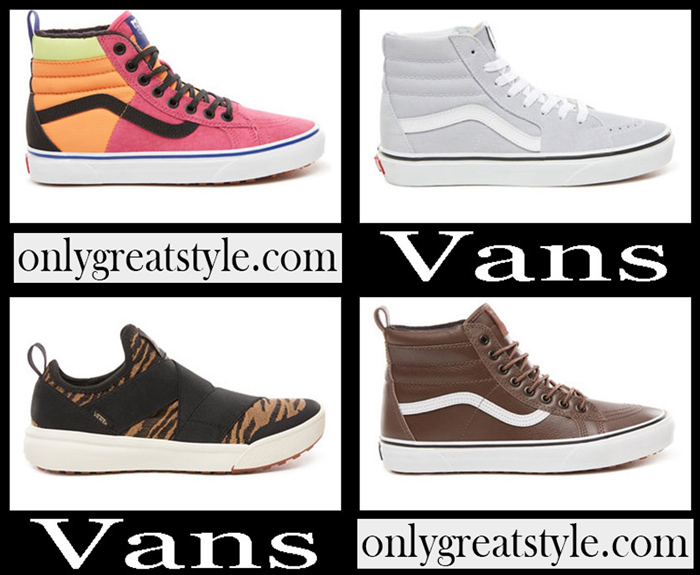 New Arrivals Vans Fall Winter 2018 2019 Women's