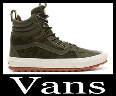 New Arrivals Vans Sneakers 2018 2019 Men's Winter 36