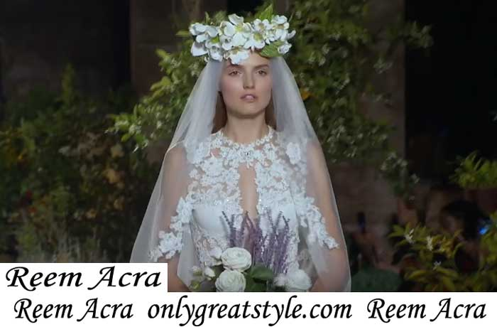 New Arrivals Bridal Reem Acra Spring Summer 2019