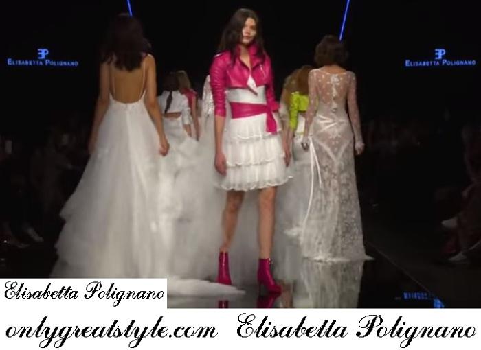 scarpe di separazione e61fc aa745 Bridal Elisabetta Polignano 2019 fashion shows spring summer dresses