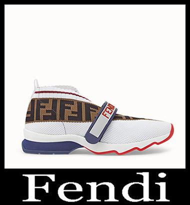 New Arrivals Fendi Sneakers 2018 2019 Women's Look 4