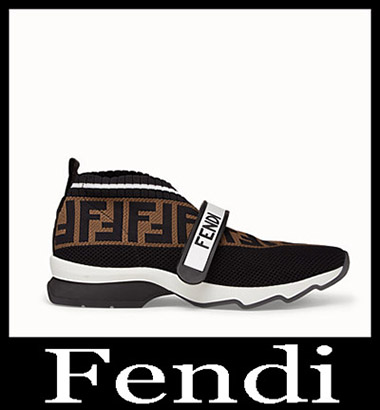 New Arrivals Fendi Sneakers 2018 2019 Women's Look 5