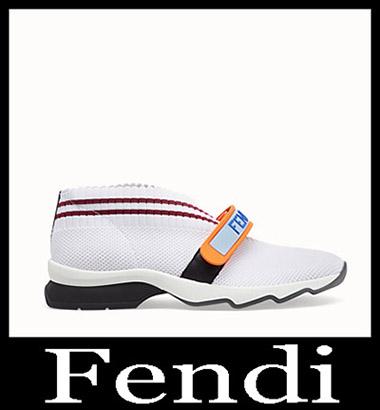 New Arrivals Fendi Sneakers 2018 2019 Women's Look 6