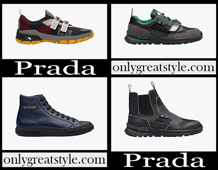 New Arrivals Prada Sneakers 2018 2019 Men's