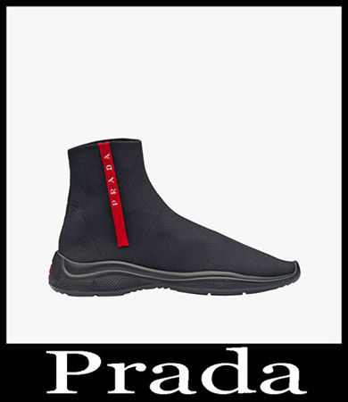 New Arrivals Prada Sneakers Men's Shoes 6