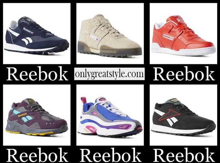 New Arrivals Reebok Sneakers 2018 2019 Men's