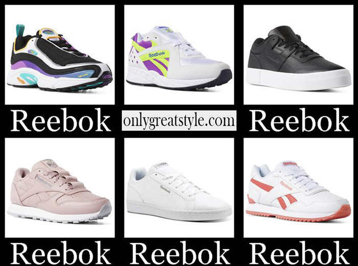 New Arrivals Reebok Sneakers 2018 2019 Women's