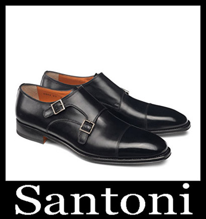 New Arrivals Santoni Shoes 2018 2019 Men's Winter 1