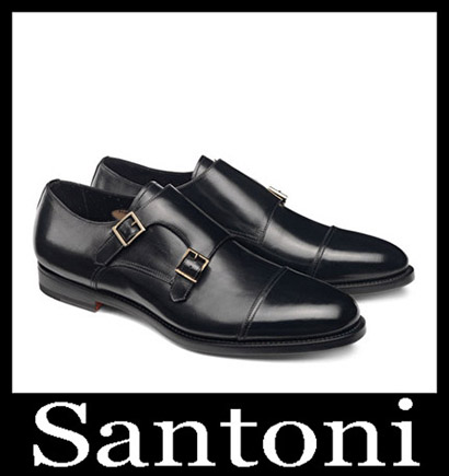 New Arrivals Santoni Shoes 2018 2019 Men's Winter 10