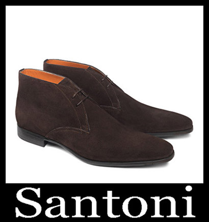 New Arrivals Santoni Shoes 2018 2019 Men's Winter 13