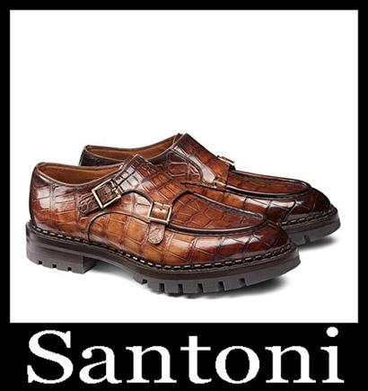 New Arrivals Santoni Shoes 2018 2019 Men's Winter 14