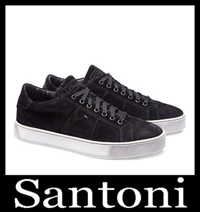 New Arrivals Santoni Shoes 2018 2019 Men's Winter 17