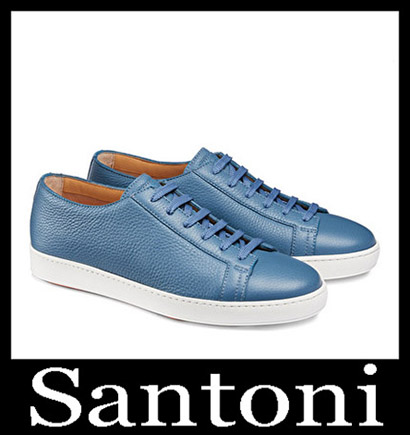 New Arrivals Santoni Shoes 2018 2019 Men's Winter 2