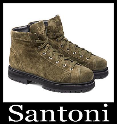 New Arrivals Santoni Shoes 2018 2019 Men's Winter 21