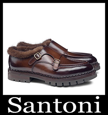 New Arrivals Santoni Shoes 2018 2019 Men's Winter 27