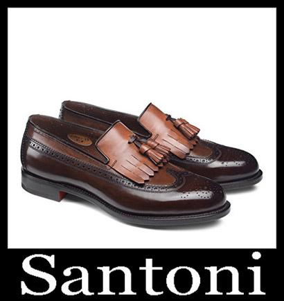 New Arrivals Santoni Shoes 2018 2019 Men's Winter 3
