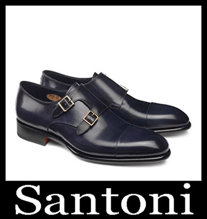 New Arrivals Santoni Shoes 2018 2019 Men's Winter 33