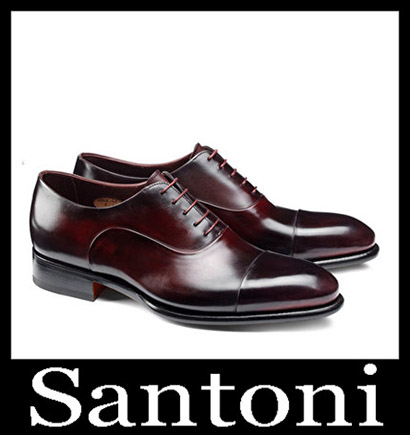 New Arrivals Santoni Shoes 2018 2019 Men's Winter 35