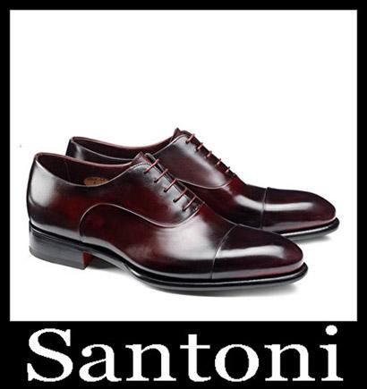 New Arrivals Santoni Shoes 2018 2019 Men's Winter 35