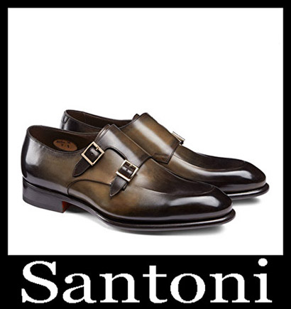 New Arrivals Santoni Shoes 2018 2019 Men's Winter 37