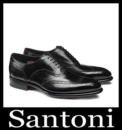 New Arrivals Santoni Shoes 2018 2019 Men's Winter 39