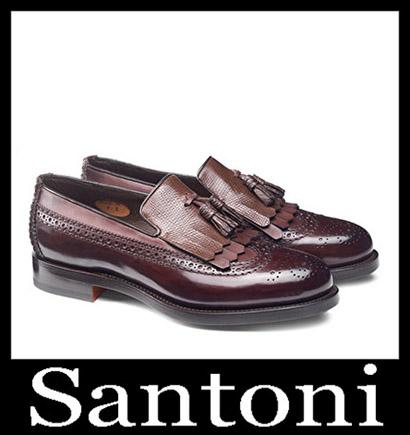 New Arrivals Santoni Shoes 2018 2019 Men's Winter 4