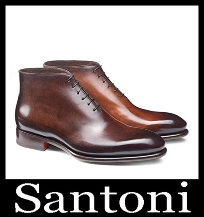 New Arrivals Santoni Shoes 2018 2019 Men's Winter 43