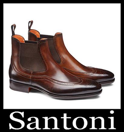 New Arrivals Santoni Shoes 2018 2019 Men's Winter 44