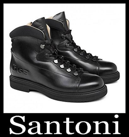 New Arrivals Santoni Shoes 2018 2019 Men's Winter 45