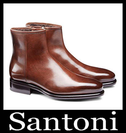 New Arrivals Santoni Shoes 2018 2019 Men's Winter 46