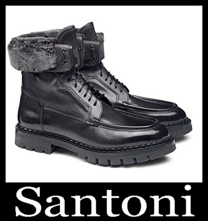 New Arrivals Santoni Shoes 2018 2019 Men's Winter 47