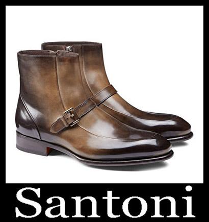 New Arrivals Santoni Shoes 2018 2019 Men's Winter 48