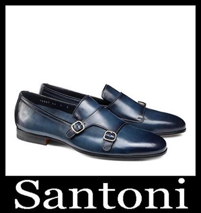 New Arrivals Santoni Shoes 2018 2019 Men's Winter 6